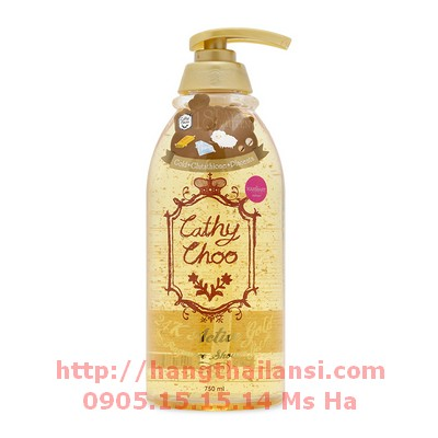Sữa-tắm-Cathy-Choo-24k-Active-Gold-750ml