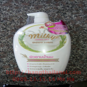 Sữa tắm trắng da Aron Milky chiết suất từ gạo