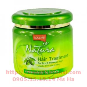 Kem ủ tóc lạnh Lolane Natura 500g